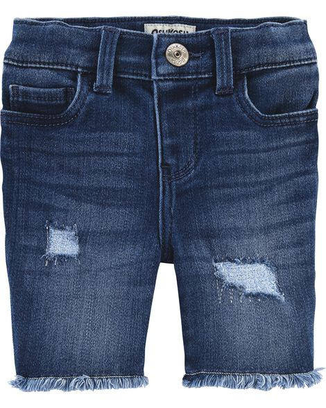 Distressed Skimmer Shorts