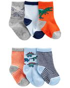 6-Pack Crew Socks, , hi-res