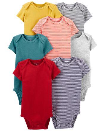 7-Pack Short-Sleeve Bodysuits