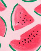 2-Piece Watermelon Bodysuit & Short Set, , hi-res