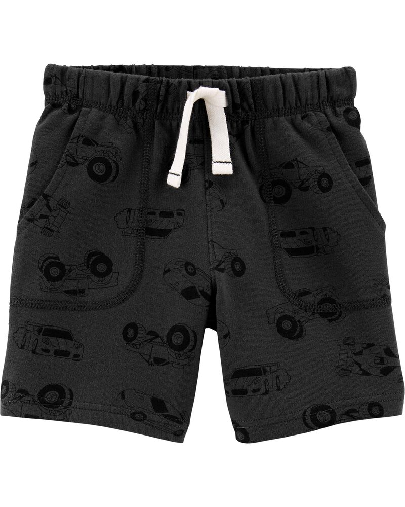 Cars Pull-On French Terry Shorts, , hi-res