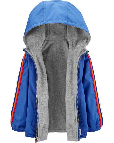 Reversible Windbreaker Jacket