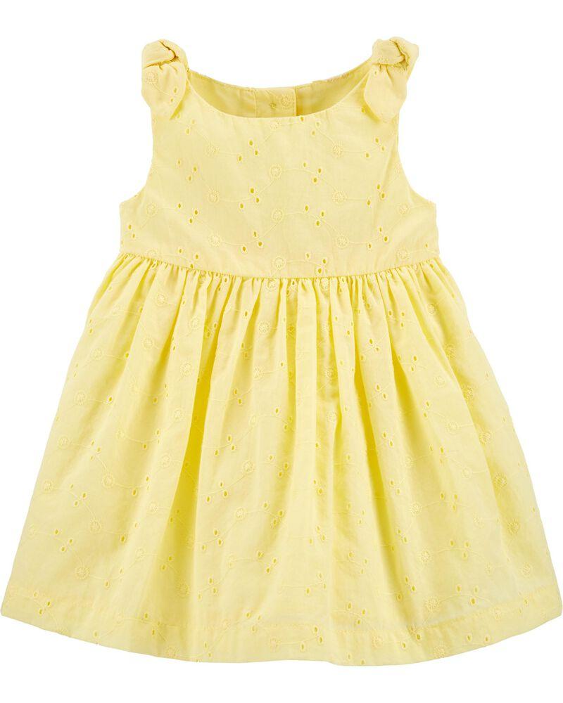 Eyelet Dress, , hi-res