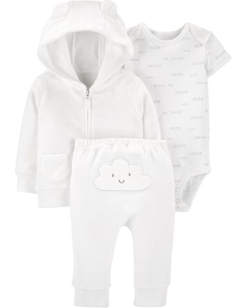 3-Piece Cloud Little Jacket Set