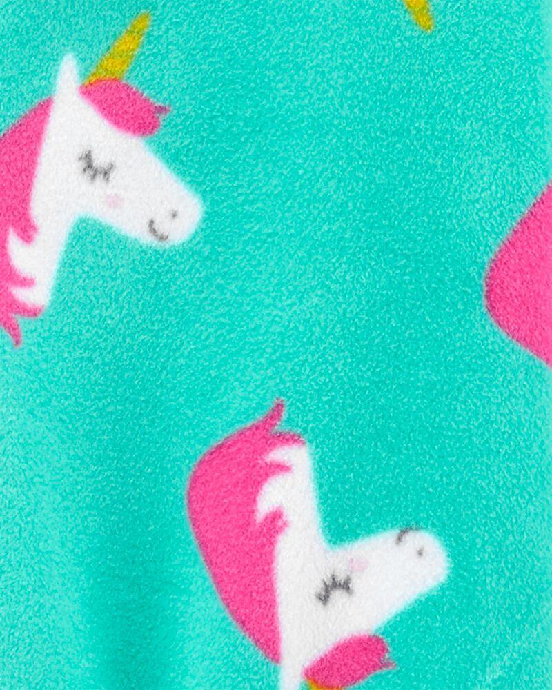 1-Piece Unicorn Fleece Footless PJs, , hi-res