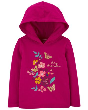 Floral Hooded Tee