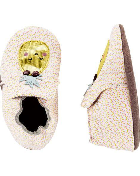 Chaussures à semelle souple ananas