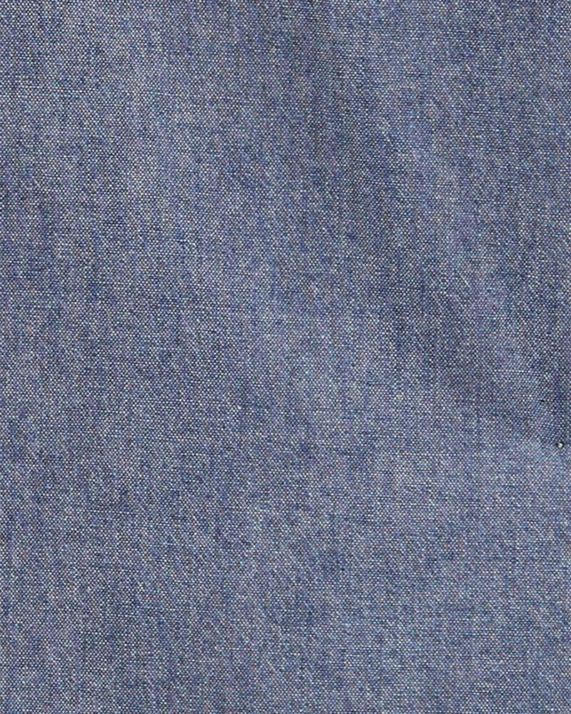 2-Piece Button-Front Shirt & Canvas Pant Set, , hi-res
