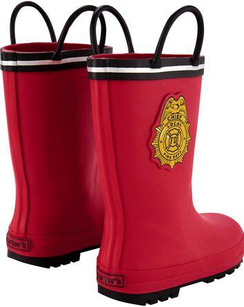Bottes de pluie pompier