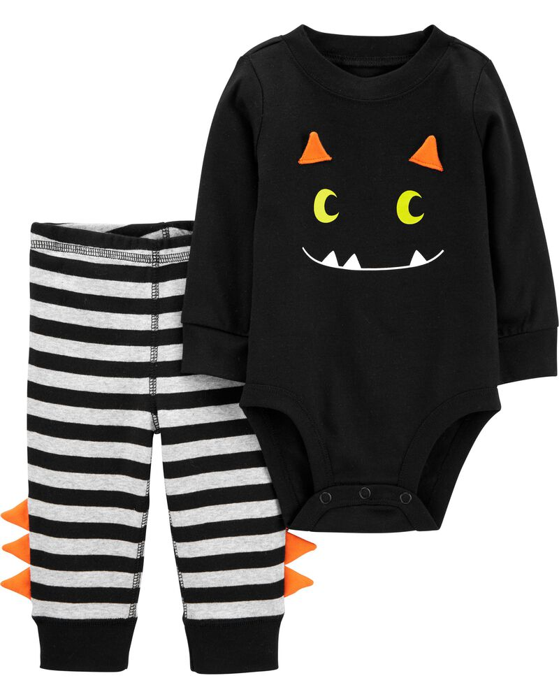 Ensemble d'Halloween 2pièces cache-couche à monstre et pantalon, , hi-res