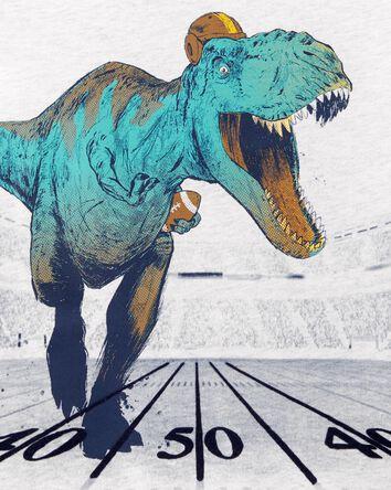 Dinosaur Football Jersey Tee
