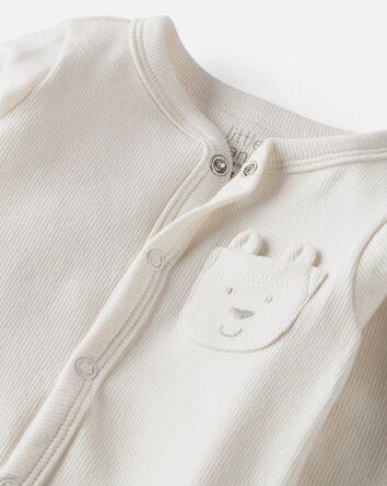 Organic Cotton Snap-Up Sleep & Play