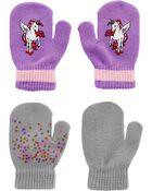 Kombi 2-Pack Flying Unicorn Gripper Mitts, , hi-res