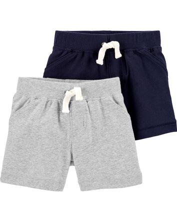 Emballage de 2 shorts