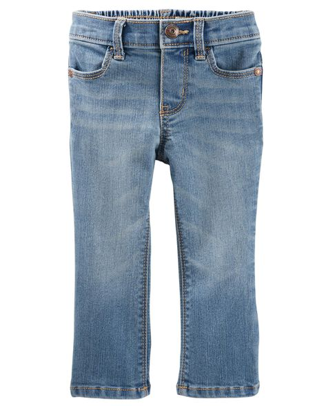 Skinny Bootcut Jeans - Upstate Blue Wash