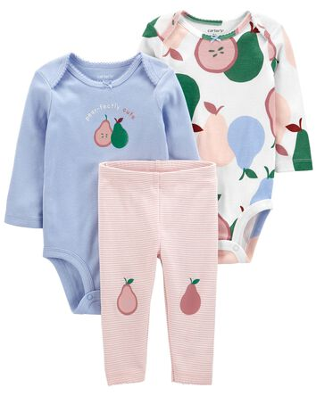 3-Piece Pear Outfit Set