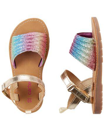 Sandales arc-en-ciel