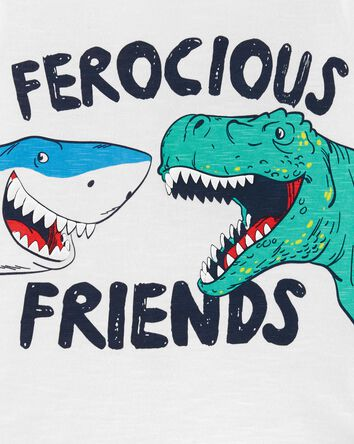 Ferocious Friends Dinosaur Jersey T...