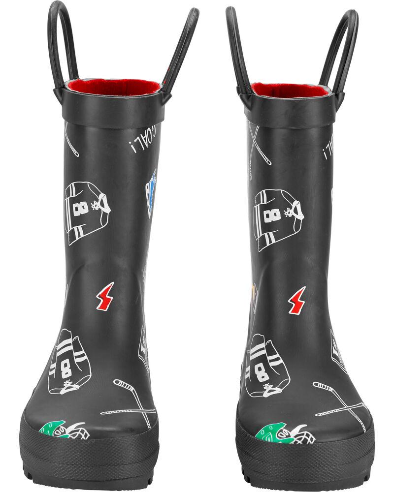 Hockey Rain Boots, , hi-res