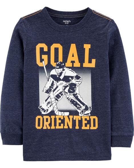 T-shirt en jersey chiné Hockey