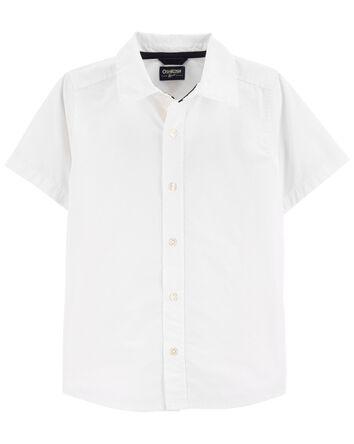 Chemise boutonnée en popeline