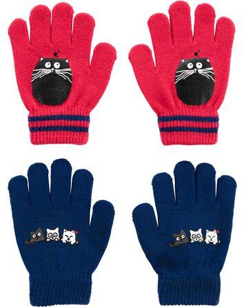Kombi 2-Pack Cat Gripper Gloves