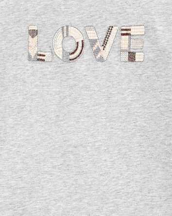 Slub Jersey Love Top