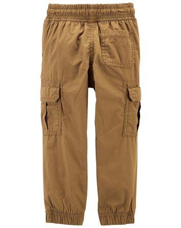 Pantalon de jogging en popeline dou...