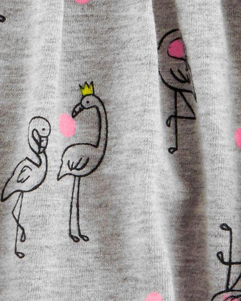 Flamingo Jersey Sunsuit