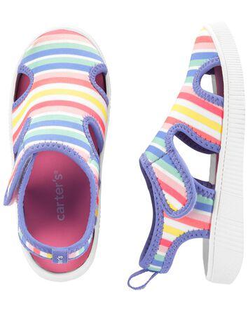 Chaussures d'eau arc-en-ciel