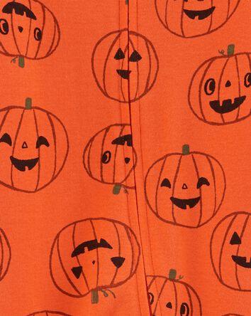 Halloween Zip-Up Cotton Sleep & Pla...