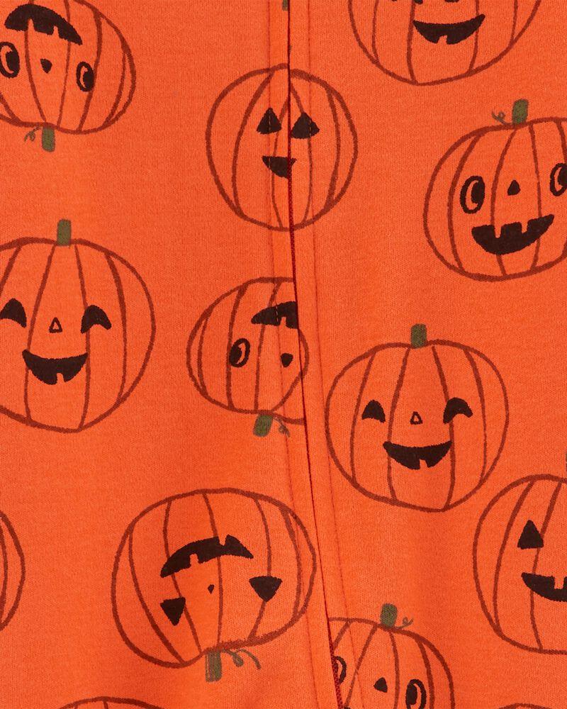 Grenouillère d'Halloween en coton avec glissière, , hi-res