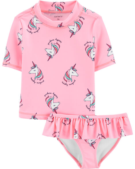 Unicorn 2-Piece Rashguard Set