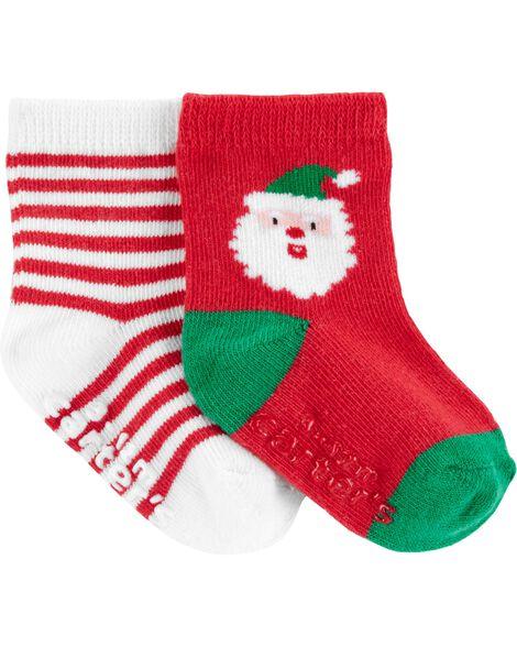 2 paires de chaussettes des Fêtes