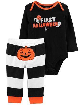 Ensemble 2 pièces d'Halloween cache...