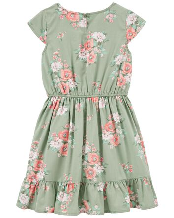 Floral Ruffle Dress
