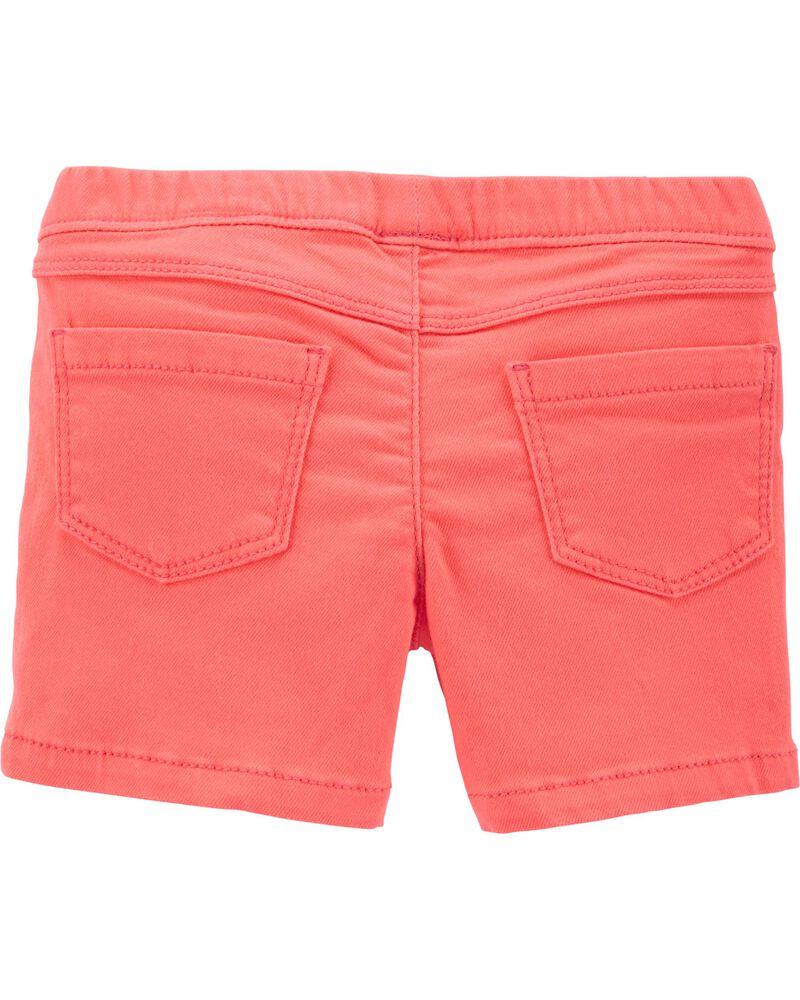 Frayed Twill Shorts, , hi-res