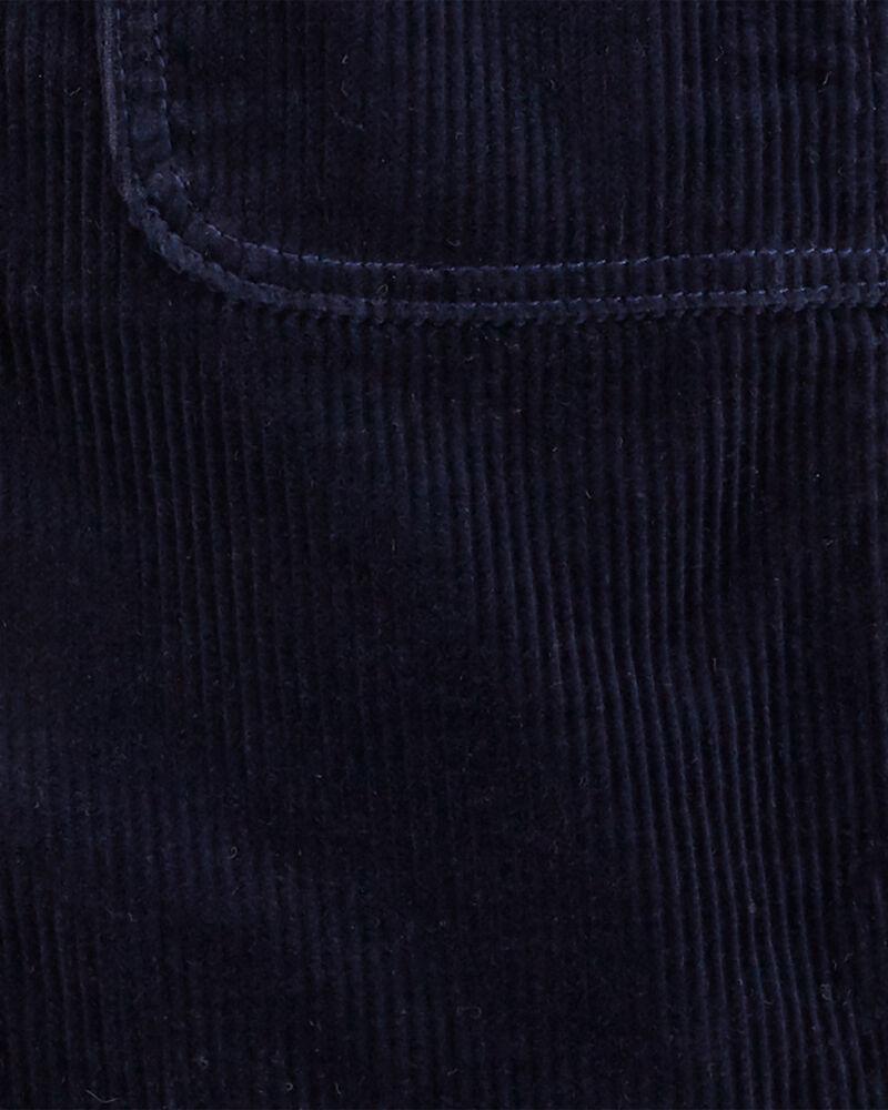 Robe chasuble en velours côtelé, , hi-res