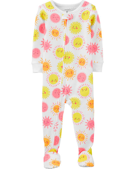 1-Piece Sunshine Snug Fit Cotton PJs