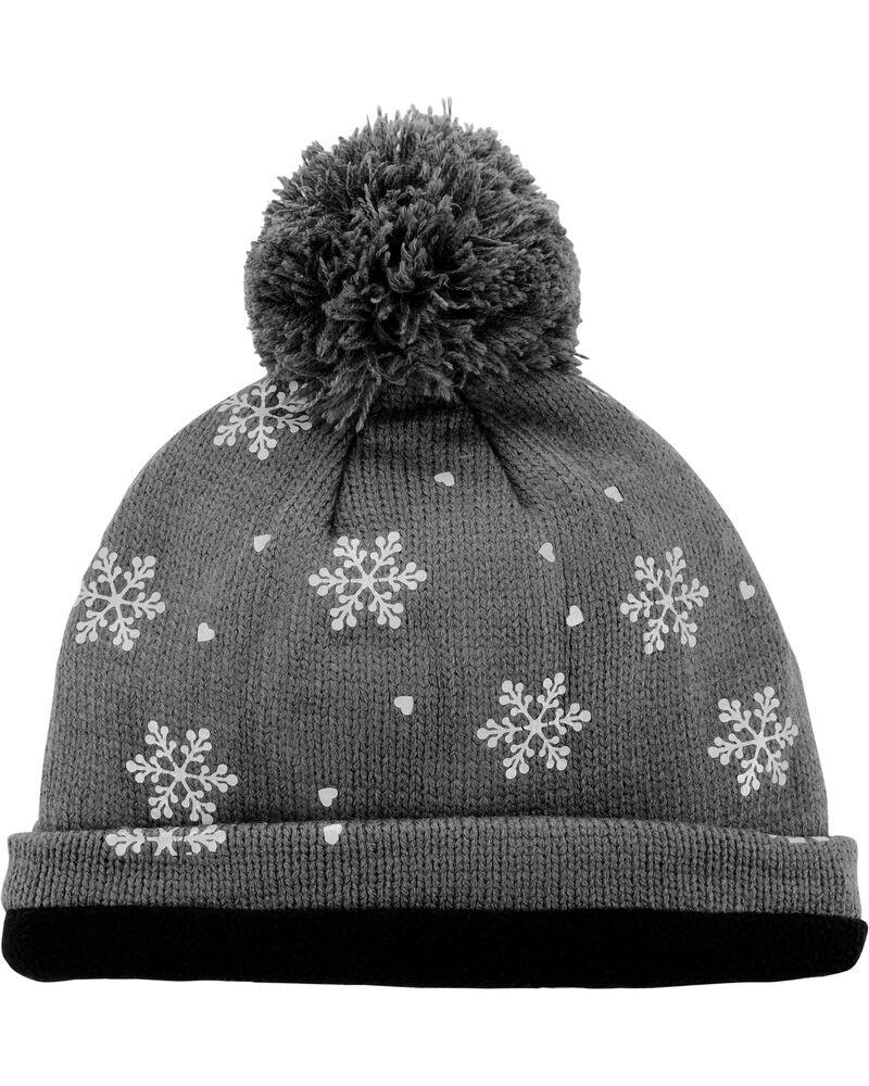 Reflective Band Winter Hat, , hi-res