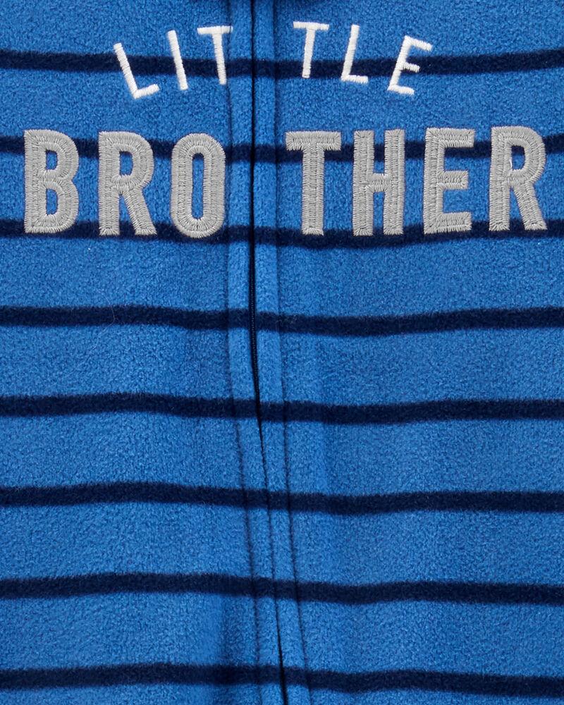 Little Brother Zip-Up Fleece Sleep & Play, , hi-res