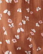 Organic Cotton Gauze Sunsuit, , hi-res