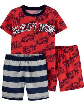 Pyjama 2 pièces en polyester avec c...