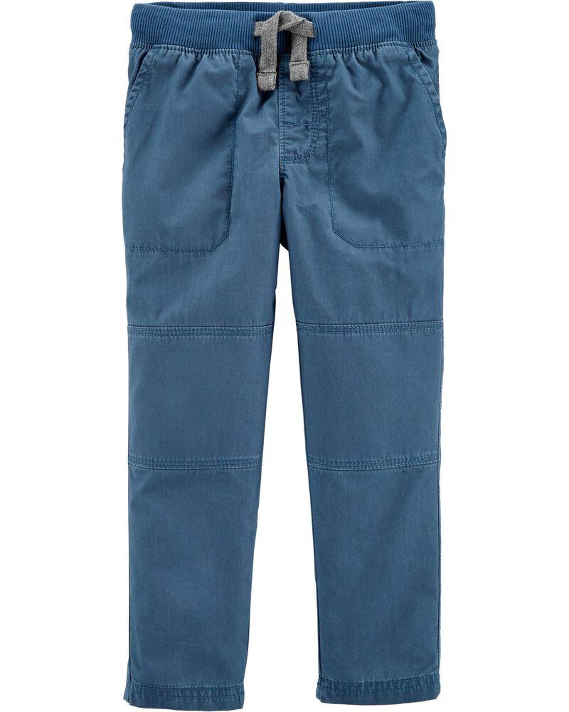 Pull-On Reinforced Knee Pants, , hi-res