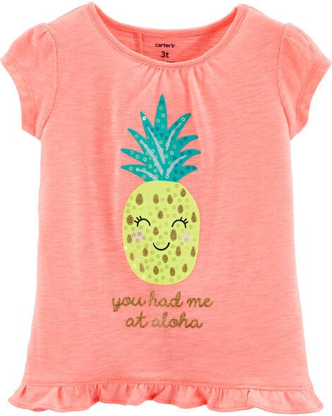 Pineapple Cross-Back Top