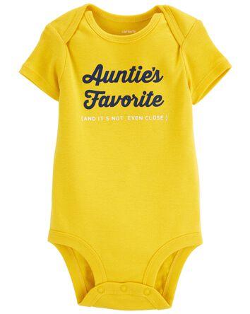 Auntie's Favorite Original Bodysuit