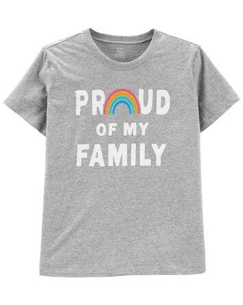 T-shirt en jersey Family pour adult...
