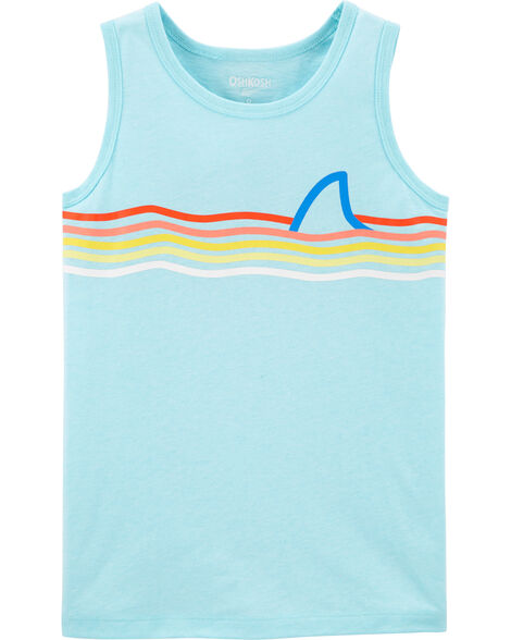 Shark Fin Stripe Tank