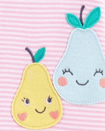1-Piece Pear 100% Snug Fit Coton Fo...