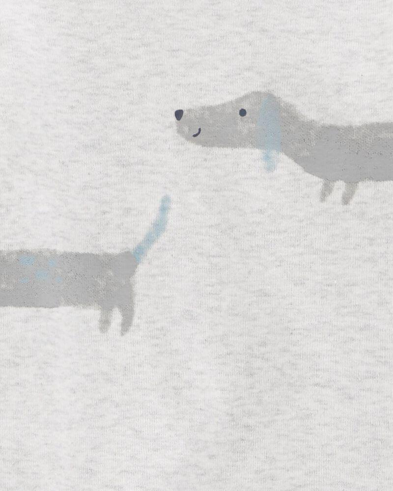 Ensemble 3 pièces cache-couche et grenouillère à chien, , hi-res